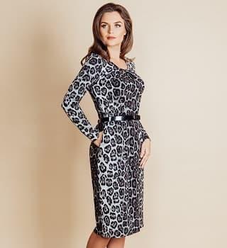 Модное платье женское Top Design B6 021