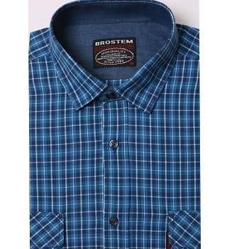 Модная мужская рубашка Brostem MS2A4-SH657-1