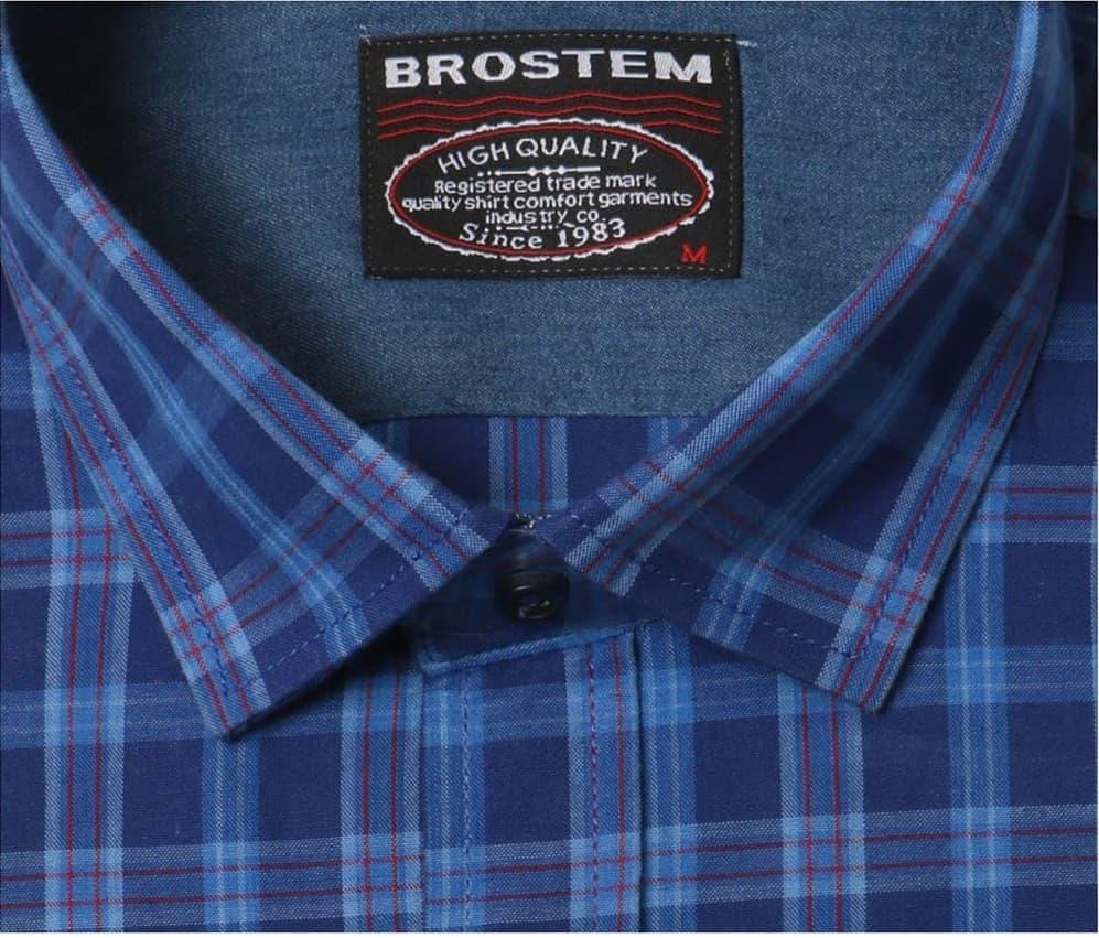 Рубашка мужская в клетку Brostem MS2A4-SH777