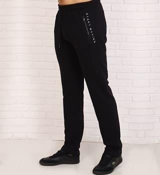 Утепленные прямые штаны мужские 26551