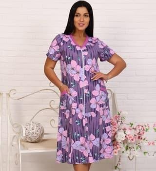 Домашний халат для женщин 6710
