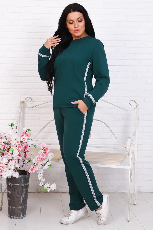 Женский костюм из футера 25141