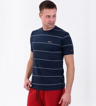 Темно-синяя мужская футболка Berchelli 16035