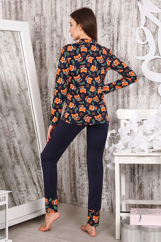 Пижама на пуговицах 25152