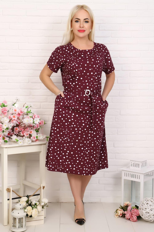 Платье с коротким рукавом 6934
