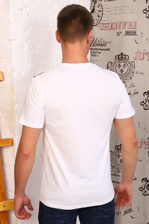 Белая футболка с принтом Berchelli 15123