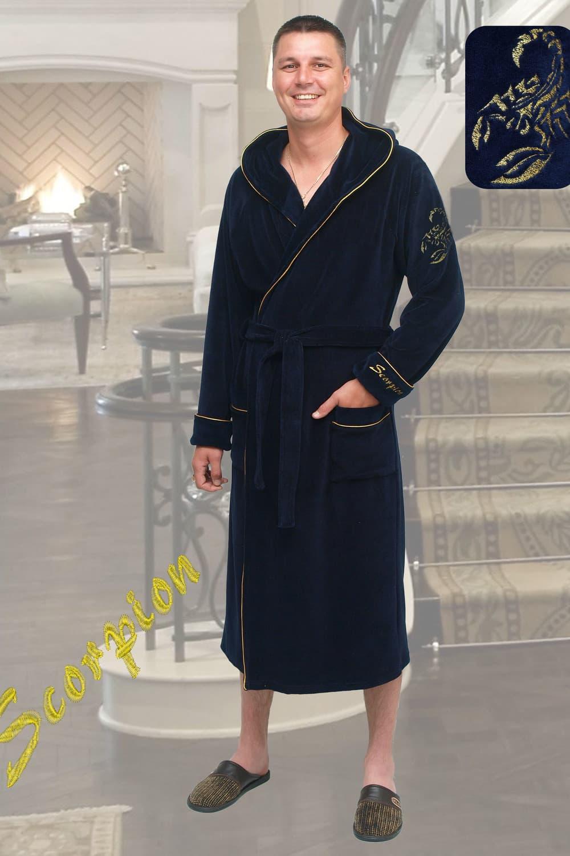 домашний мужской халат