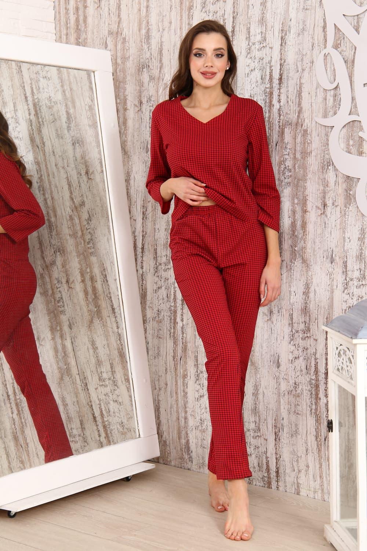 Хлопковая пижама с брюками 33501