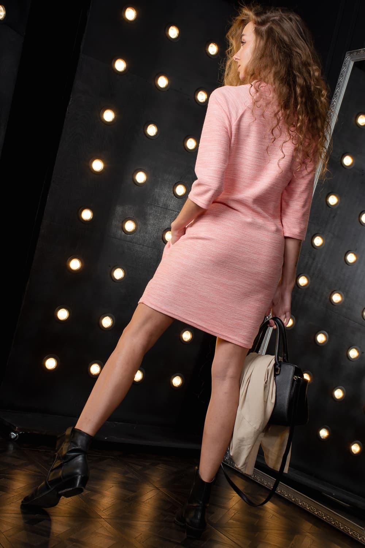Молодежное платье с рукавом три четверти 24801