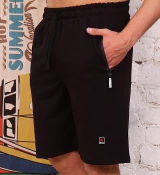 Мужские шорты черные Berchelli 4948