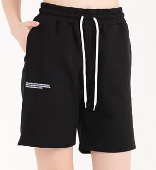 Женские шорты черные 16063