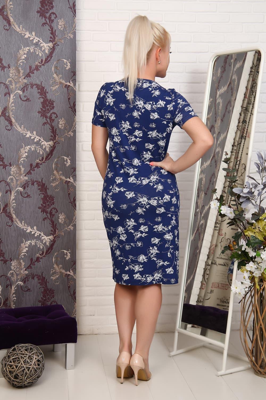 Платье на лето синие 27594