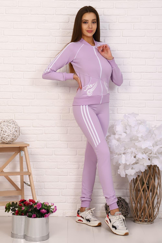 Спортивный костюм с тремя полосками 12317