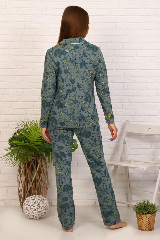 Теплая пижама женская 11602