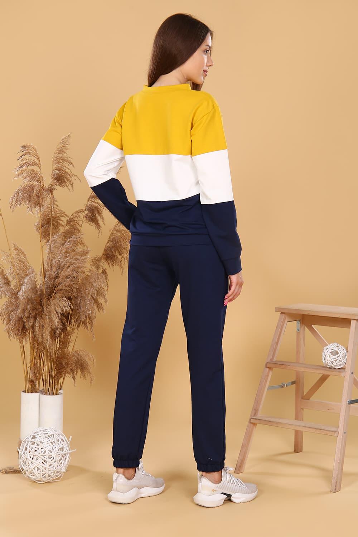 Трикотажный костюм с брюками 38507