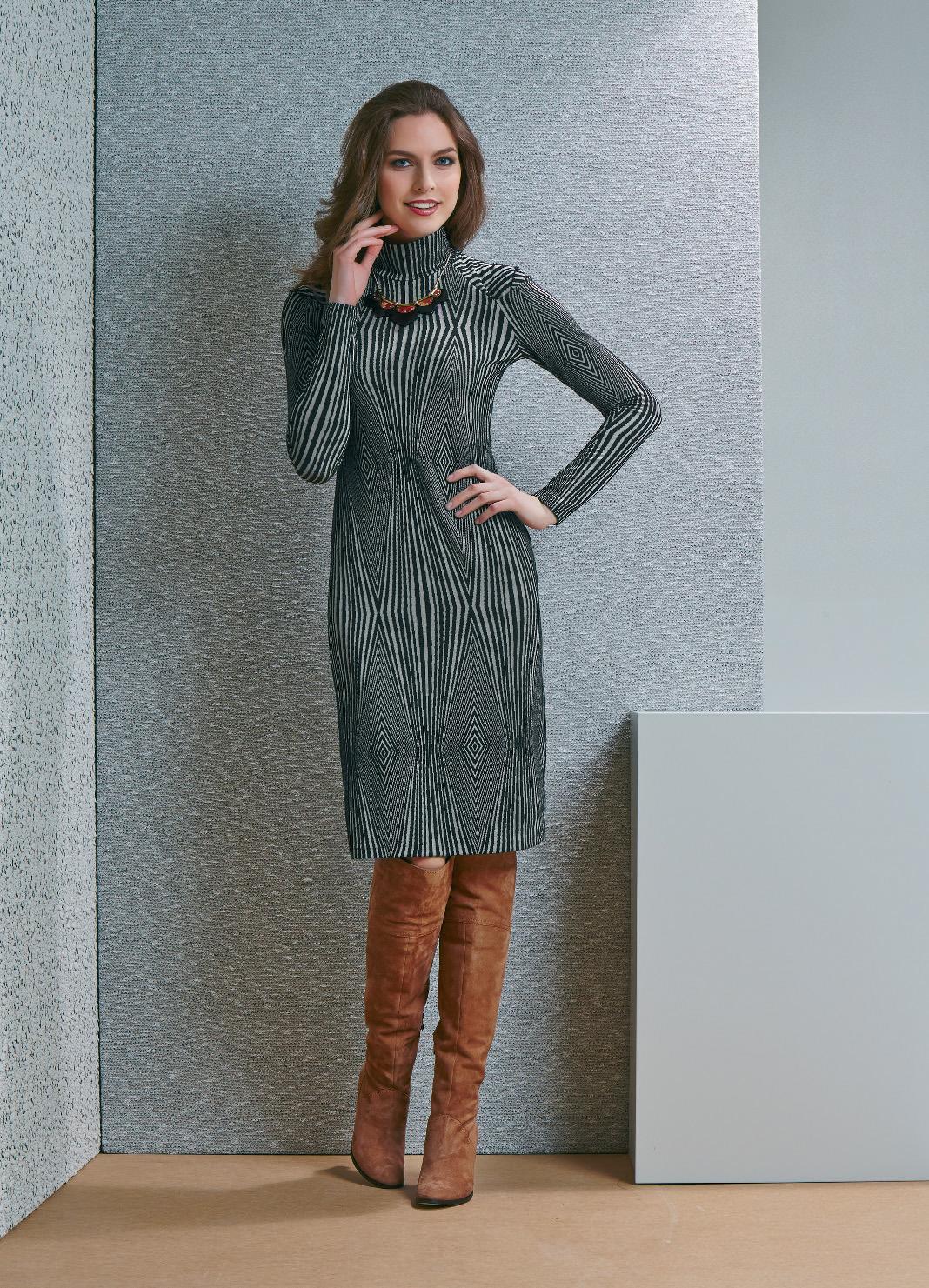Изящное платье на осень Top Design B4 004