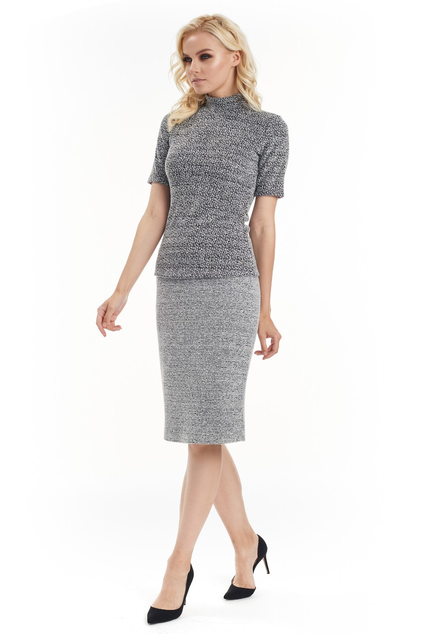 Женская стильная блузка LalaStyle W08040