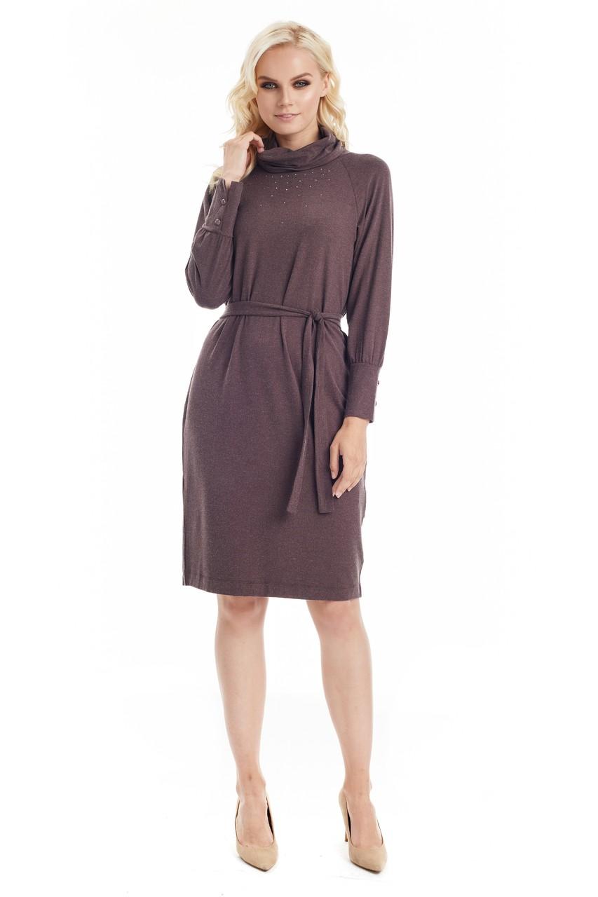 Зимнее платье LalaStyle W01052