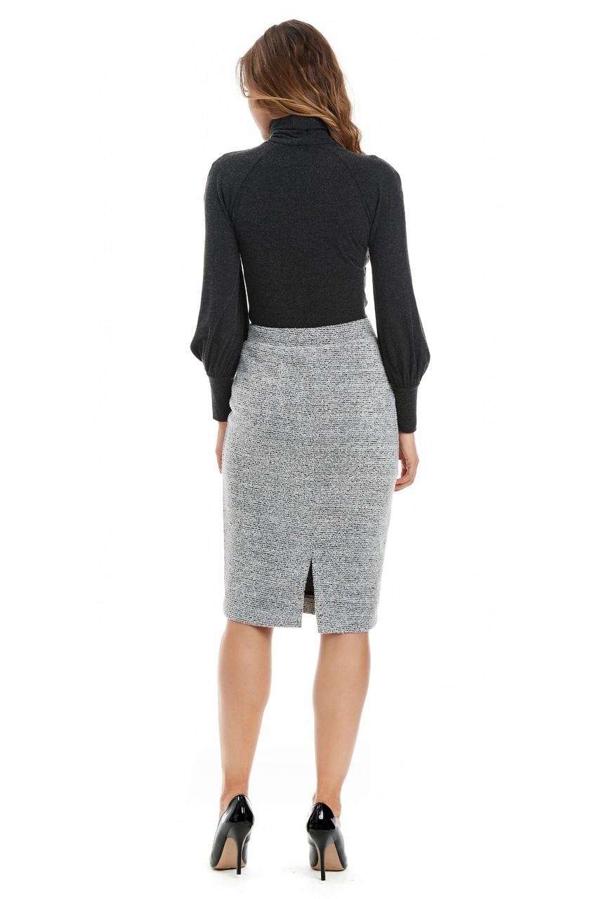 Модная юбка на осень LalaStyle W10067