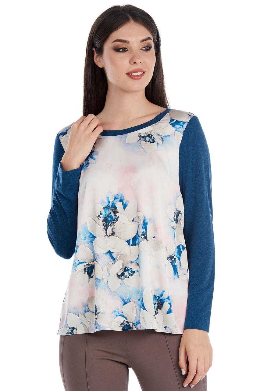 Расклешенная блузка LalaStyle W02086