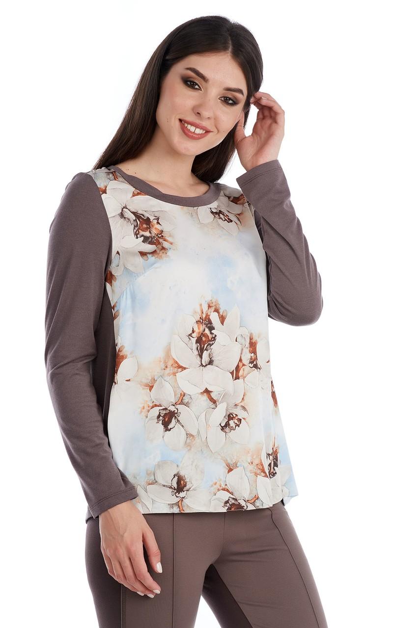Женская красивая блузка LalaStyle W02086