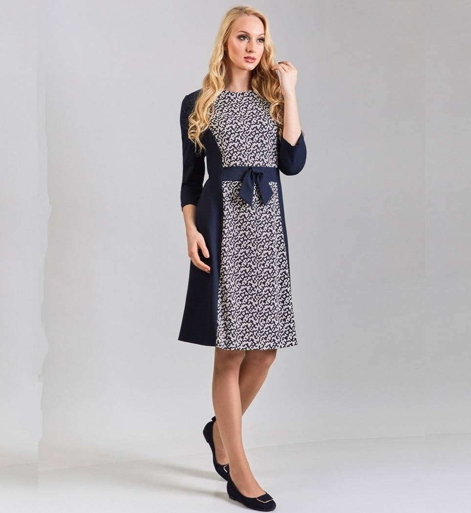 Элегантное женское платье TopDesign B8 037