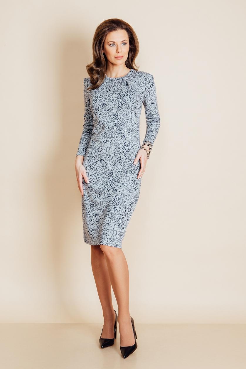 Красивое женское платье Top Design B6 112