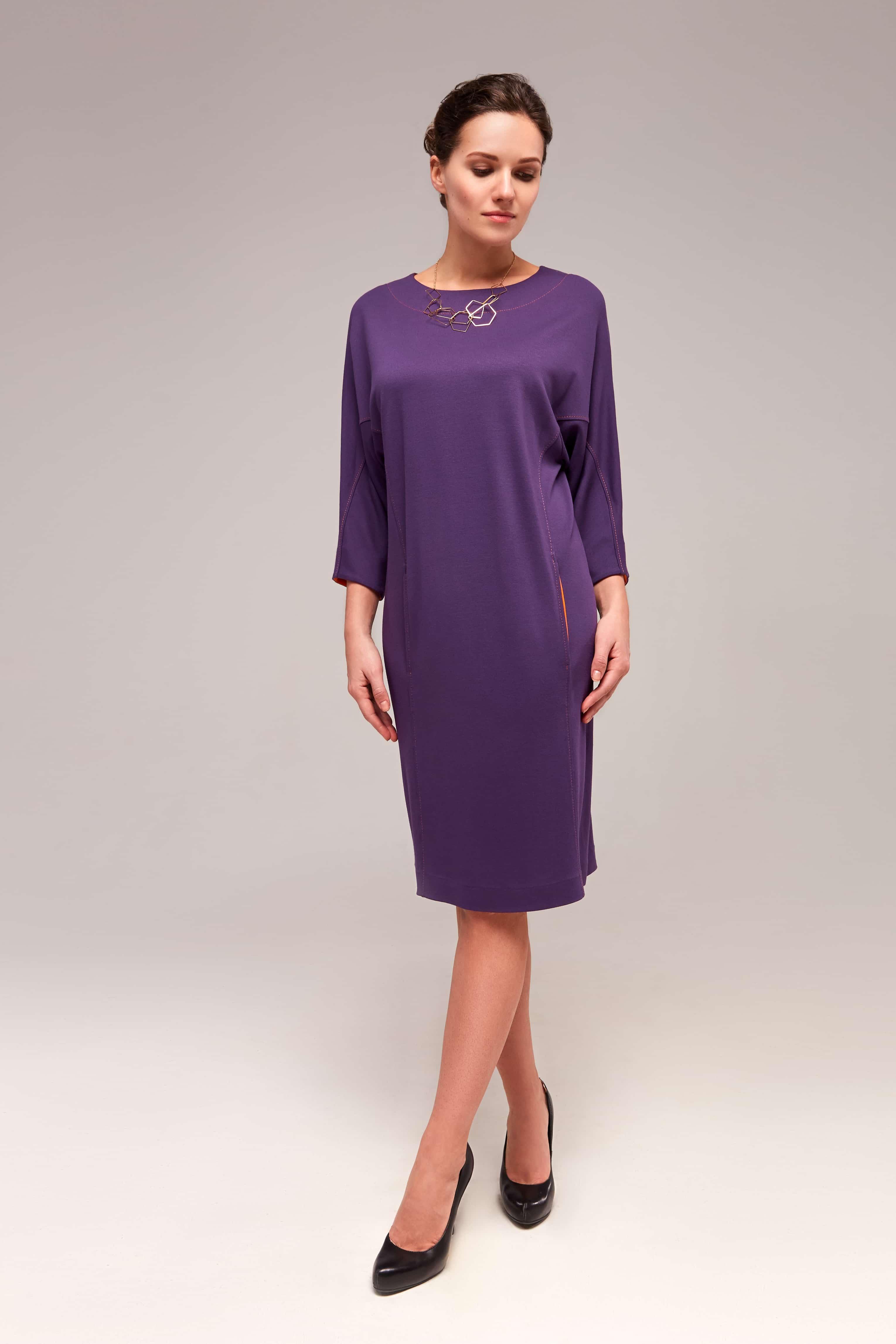 Элегантное платье TopDesign B7 002
