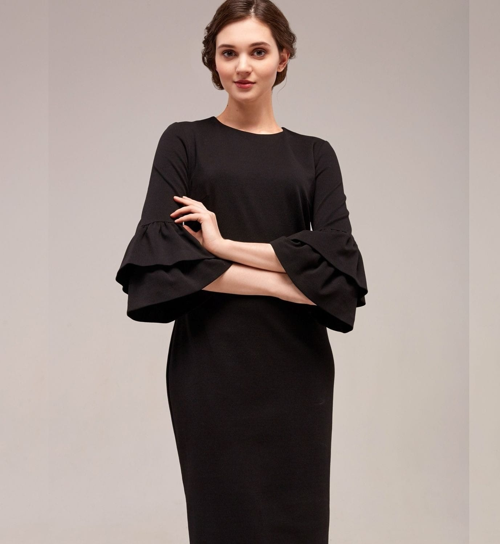 Модное платье Top Desing B7 048