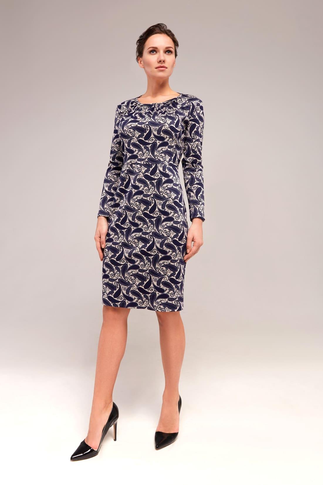 Стильное женское платье TopDesign В7 153