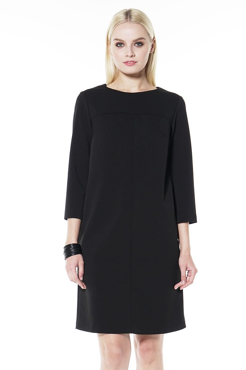Черное платье LalaStyle 1437
