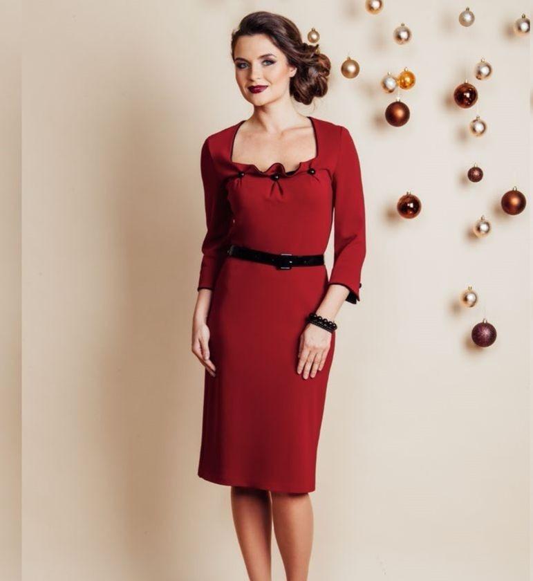 Элегантное платье Top Design NB6 22