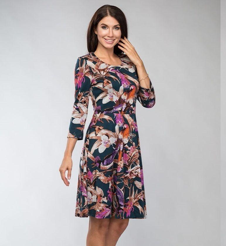 Изящное женское платье LalaStyle 714-59