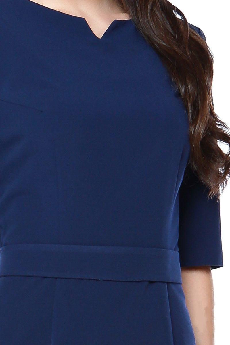 Синие платье LalaStyle 1272-10