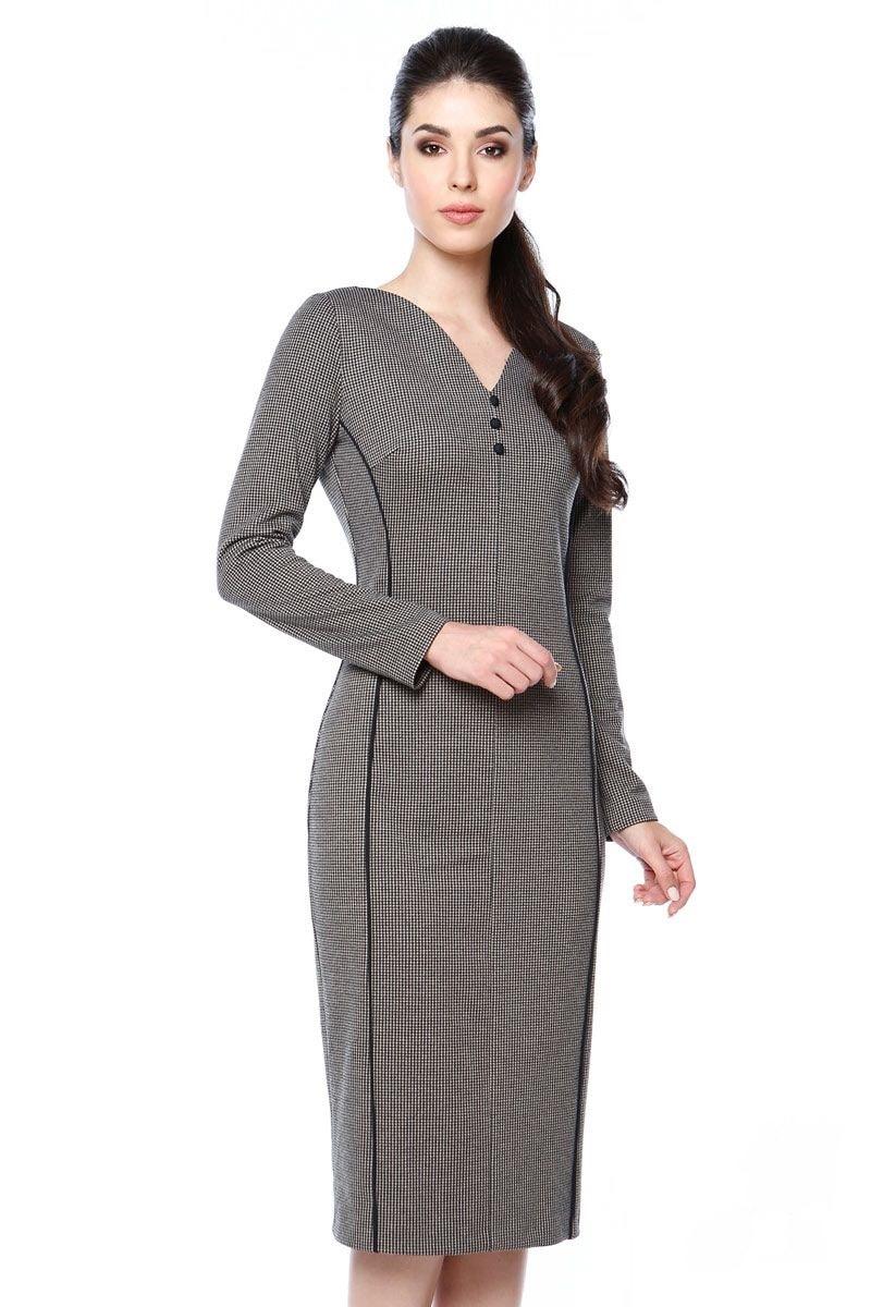 Стильное платье LalaStyle 1298-112