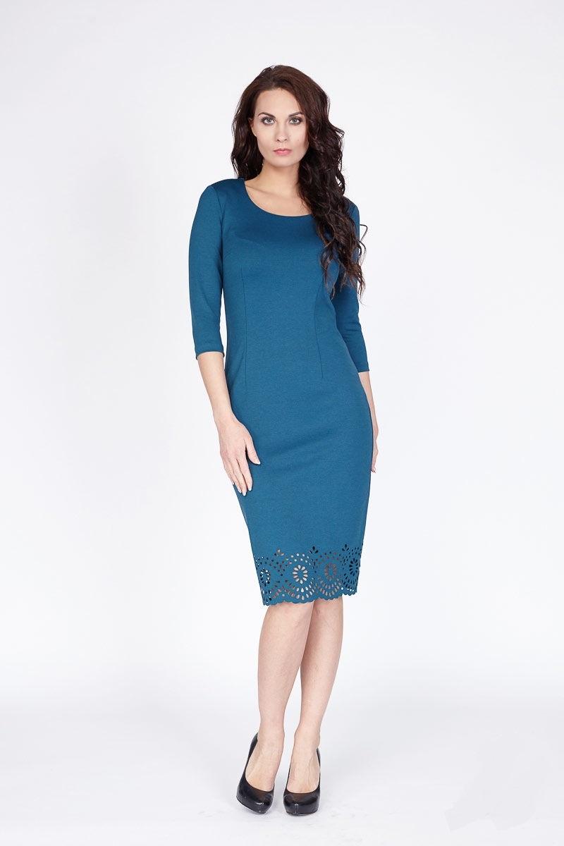 Платье с рукавами LalaStyle 1098-75
