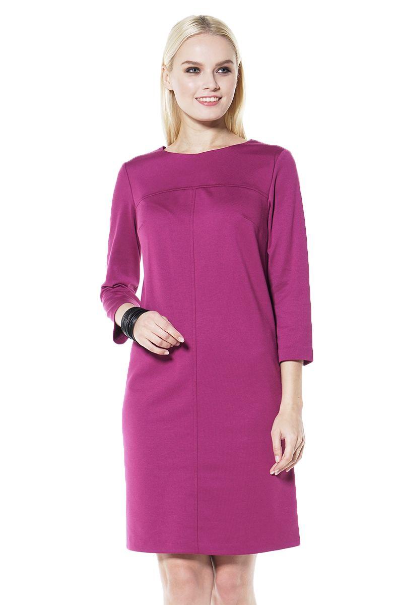 Платье цвета фуксия LalaStyle 1437