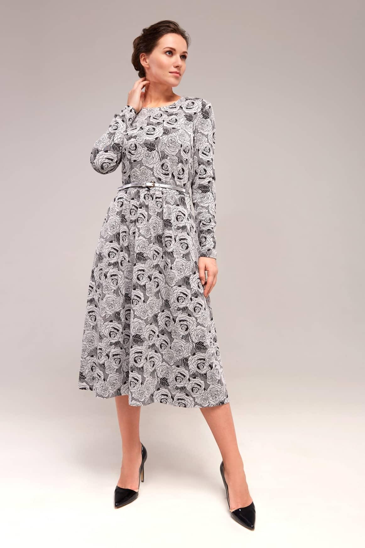 Красивое женственное платье Top Desing B7 135