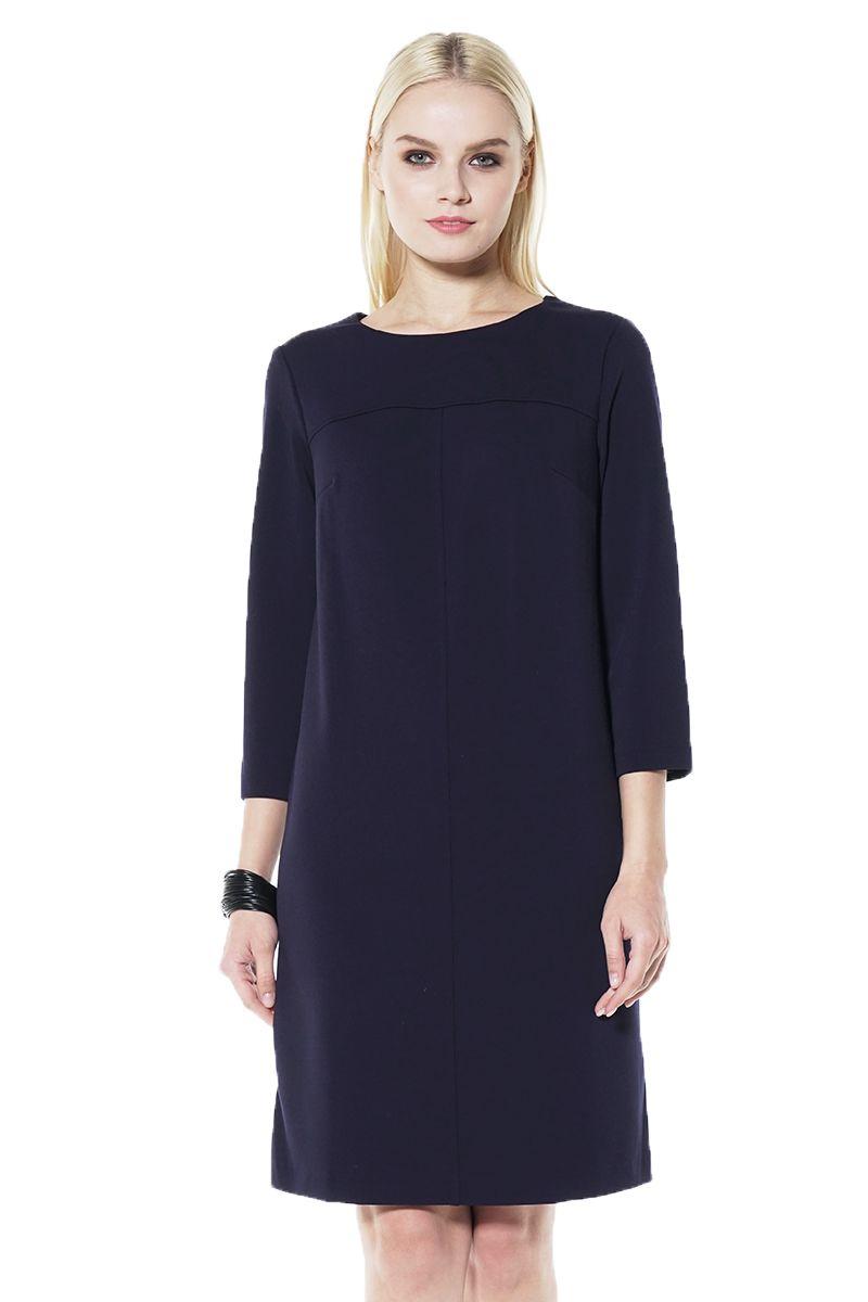 Темно синие платье Lala Style 1437