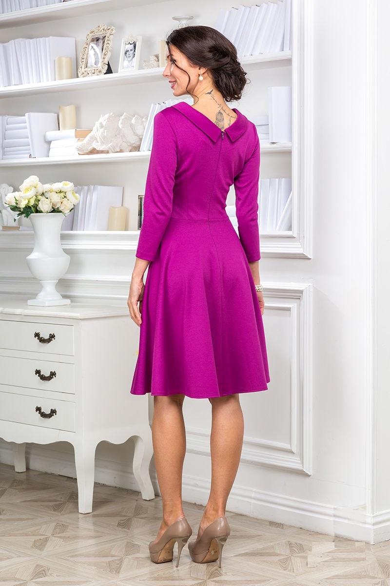 Яркое платье Lala Style 1096-38
