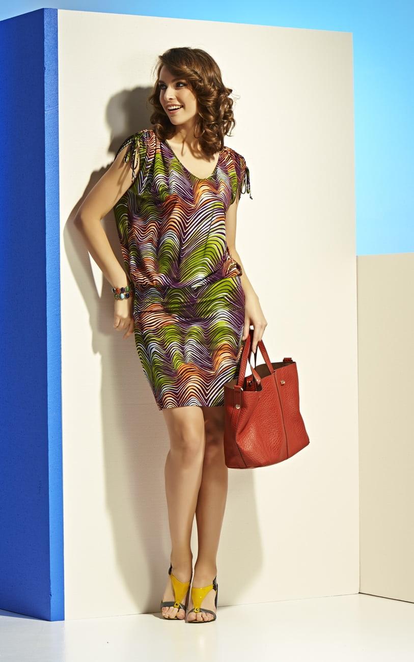 Платье из вискозы Top Design А4 001