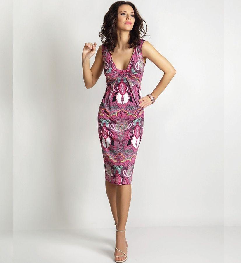 Летние платье TopDesign А6 026