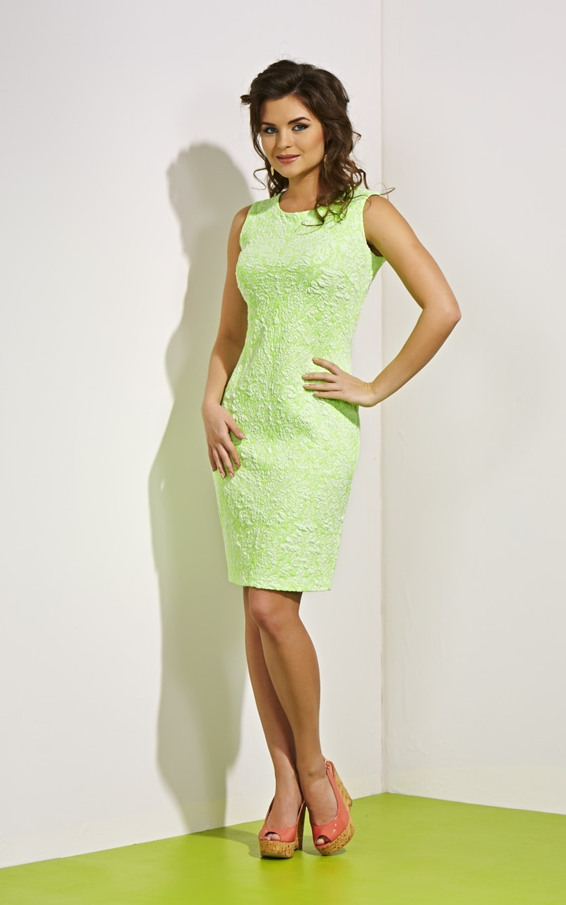 Cтильное летнее платье Top Design А4 014