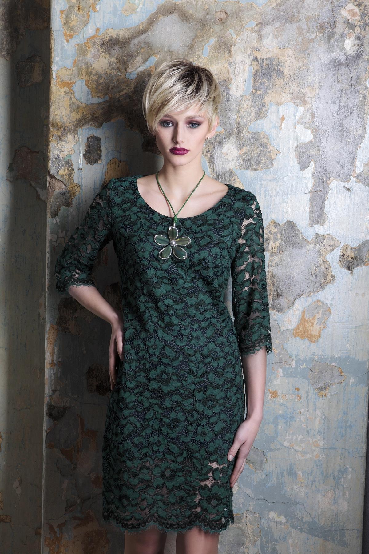 Изящное кружевное платье Flaibach 065W5