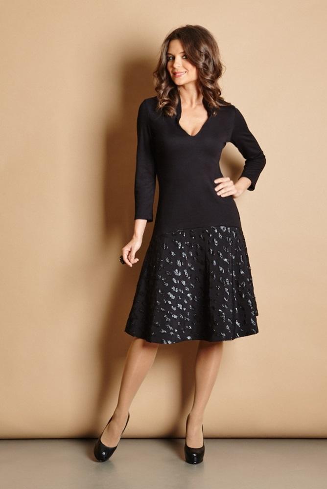 Маленькое черное платье TopDesign РВ5 40