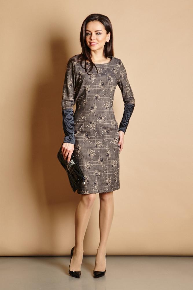 Деловое платье Top Design В5 078