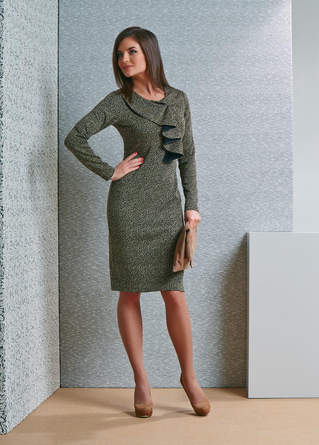 Интересное платье TopDesign В4 012