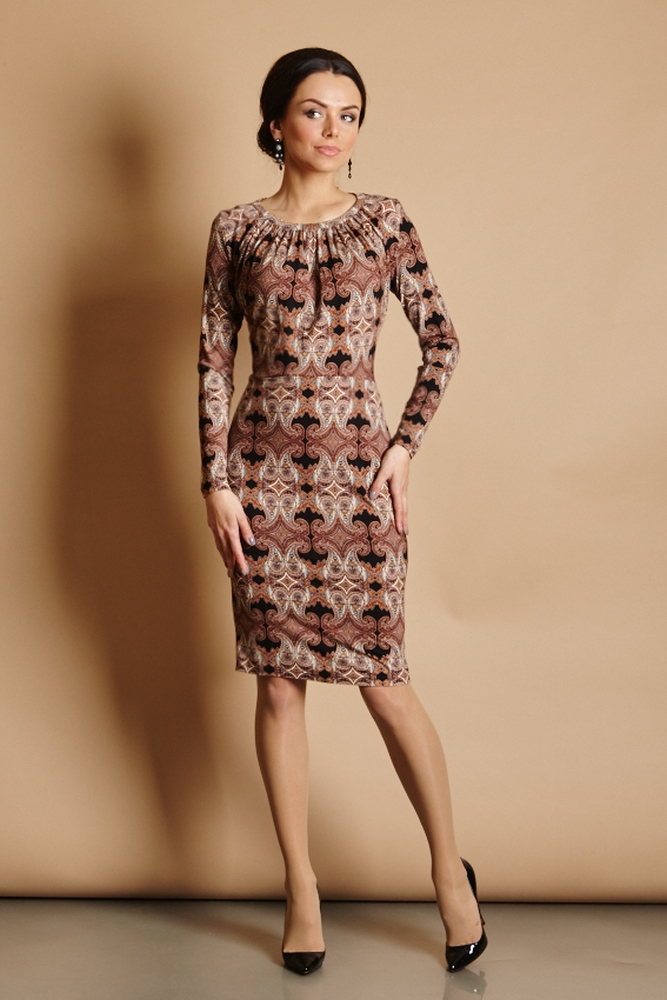 Женственное платье TopDesign В5 020