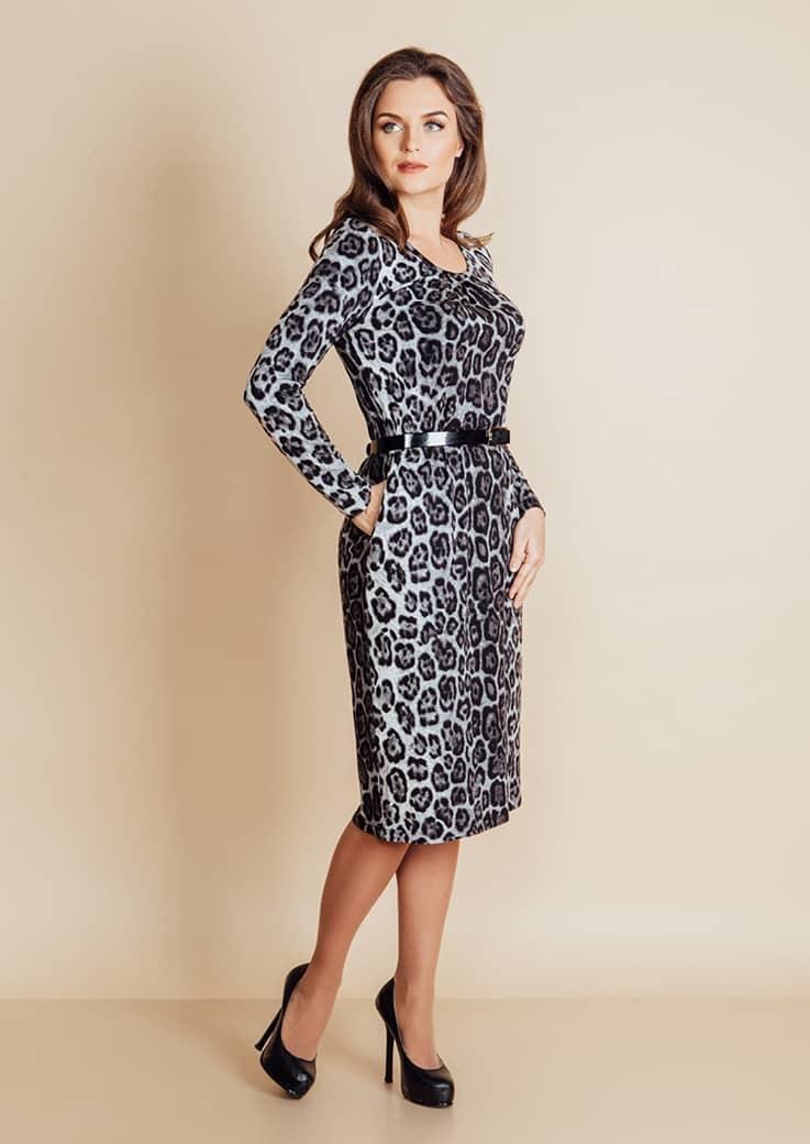 Платье на зиму Top Design B6 021