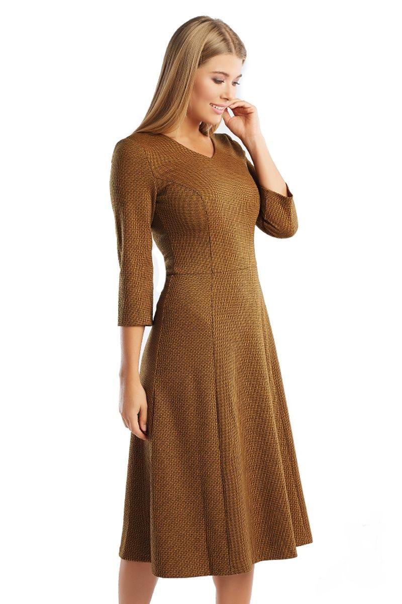 Платье миди Lala Style 1296-120